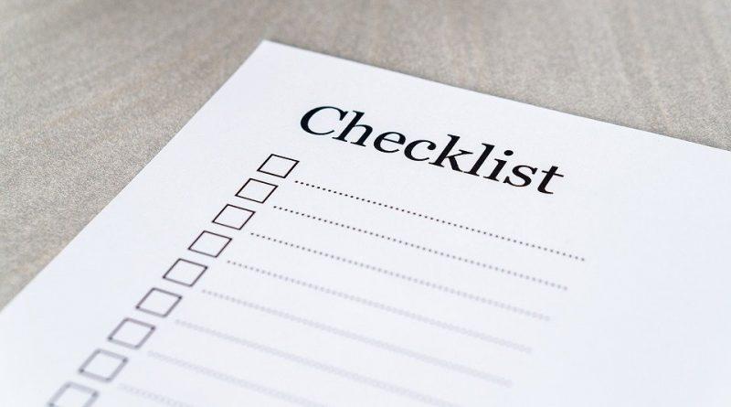 Checklist taqwa